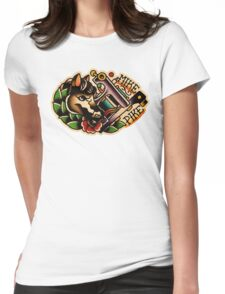 Spitshading 01 Womens Fitted T-Shirt