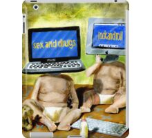 Growing Up Too Fast iPad Case/Skin