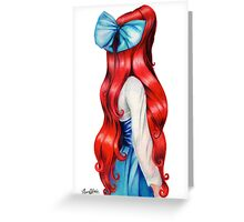 Ariel's Red Hair  Greeting Card
