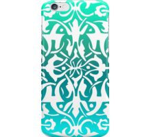 Sea Foam Mandala iPhone Case/Skin