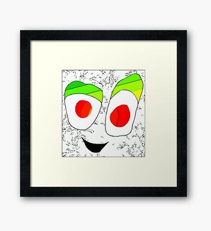 Just Smile Framed Print
