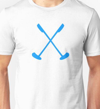 Crossed mini golf clubs Unisex T-Shirt