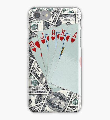 Royal Flush Hearts iPhone Case/Skin