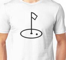 Golf court flag Unisex T-Shirt