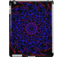 Blue Red Blue iPad Case/Skin