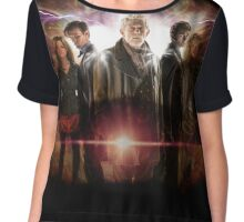 Day of the Doctor Chiffon Top