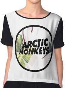 Arctic Monkeys with Palms Chiffon Top