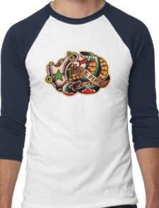Spitshading 22 Men's Baseball ¾ T-Shirt