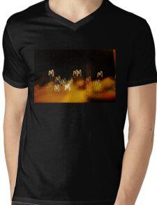 Yes, We M Mens V-Neck T-Shirt