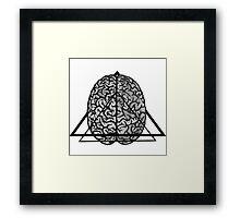 Brainiac Framed Print