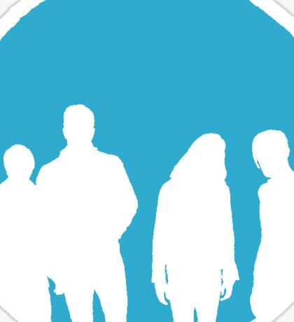 Imagine Dragons Alt Logo BLUE Sticker