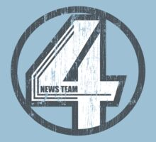 Fantastic 4 News Team by GuyDesigns