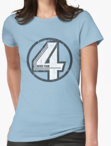 Fantastic 4 News Team Womens Fitted T-Shirt