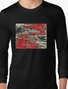Angry abstract drawing Long Sleeve T-Shirt