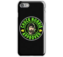Chuck Norris Approved I. iPhone Case/Skin