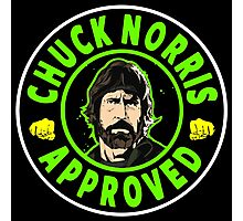 Chuck Norris Approved I. Photographic Print