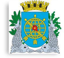 Coat of Arms of Rio de Janeiro Canvas Print