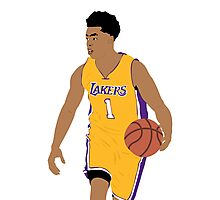 D'Angelo Russell Photographic Print