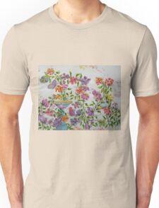 PAW-SCH - GARDEN BIRD BATH Unisex T-Shirt