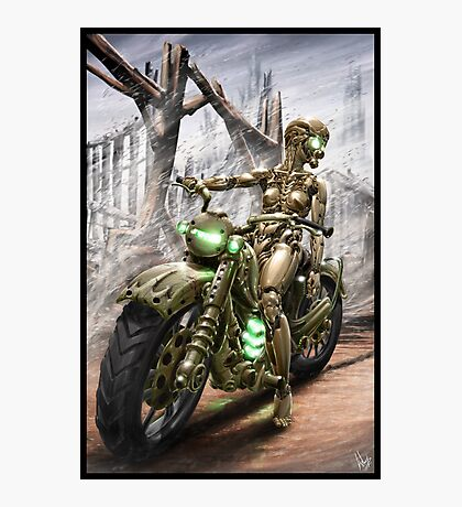 Cyberpunk Painting 023 Photographic Print