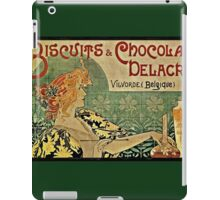 Biscuits and Chocolat Delacre iPad Case/Skin