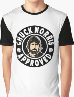 Chuck Norris Approved II. Graphic T-Shirt