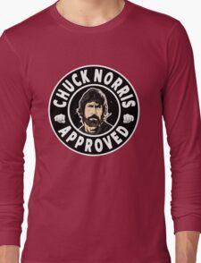 Chuck Norris Approved II. Long Sleeve T-Shirt