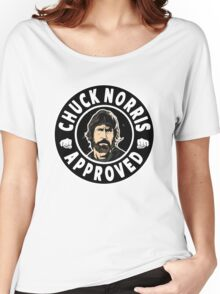 Chuck Norris Approved II. Women's Relaxed Fit T-Shirt