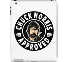 Chuck Norris Approved II. iPad Case/Skin