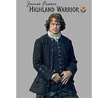 James Fraser/Highland Warrior Photographic Print