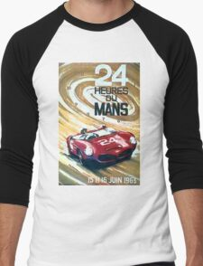 LeMans 63 Men's Baseball ¾ T-Shirt