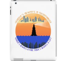 There's always a lighthouse... iPad Case/Skin