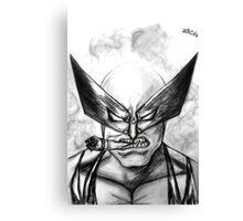 Logan Headshot (SketchVersion) Canvas Print
