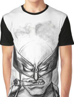 Logan Headshot (SketchVersion) Graphic T-Shirt