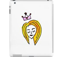 Feel Like A Princess iPad Case/Skin