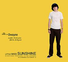 Little Miss Sunshine - Dwayne by redroseses
