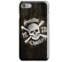 Suicide Charley USMC License #11611 iPhone Case/Skin