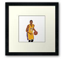 Jordan Clarkson Framed Print