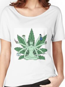 Weed's God Women's Relaxed Fit T-Shirt