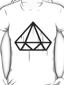 Upside down Diamond wet Drip T-Shirt