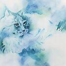 Random Cat by Bev  Wells