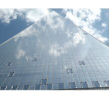 Looking Up from the Base of the New World Trade Center, Lower Manhattan, New York City Photographic Print