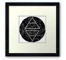 Air&Earth (AV) North constellations Framed Print