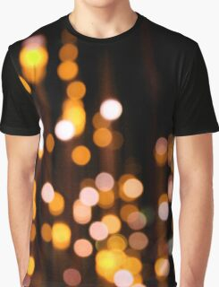 Shimmering Yellow Graphic T-Shirt