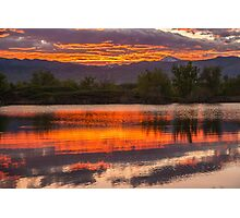 Sunset Rhythms Photographic Print