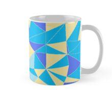 TRIANGLES BLUE Mug