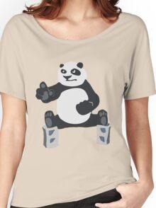 Fu panda Kung Women's Relaxed Fit T-Shirt
