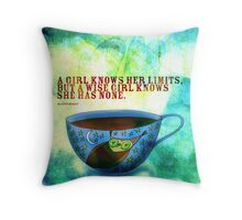 What my #Coffee says to me - Jan 3, 2013 Pillow Throw Pillow
