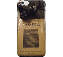 The Camera iPhone Case/Skin