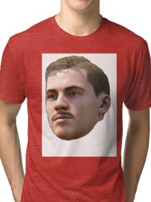 A Blank Stare Tri-blend T-Shirt